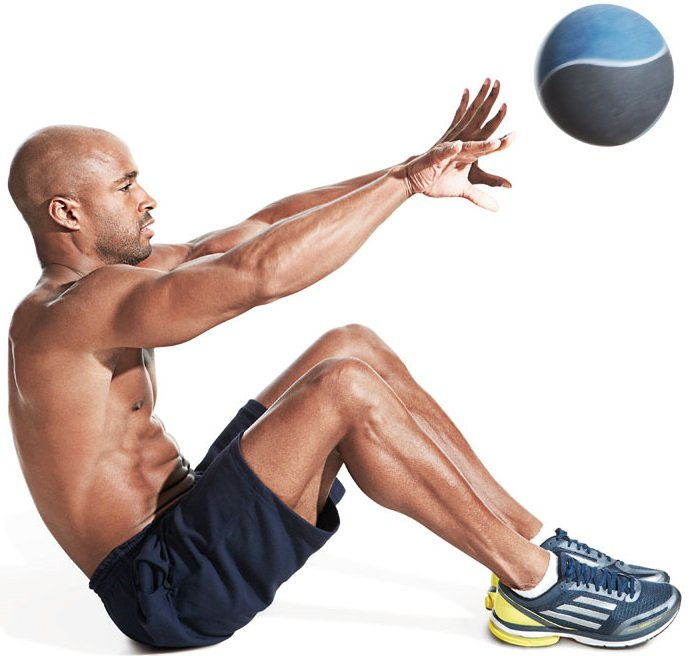 Medicine Ball Situps