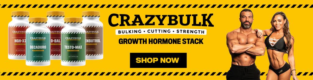 Crazy Bulk Growth Stack
