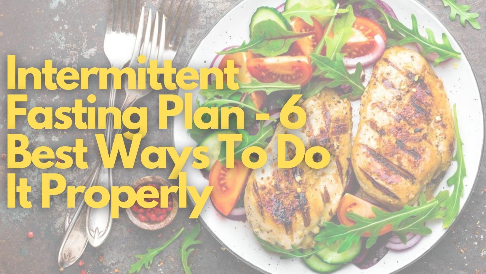 intermittent fasting plan